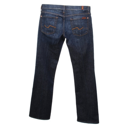 7 For All Mankind Jeans bootcut in blu