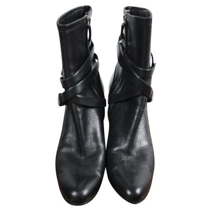 Ralph Lauren Black ancle boots