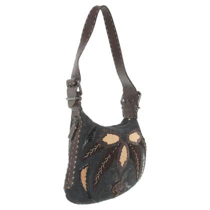 Fendi Petit sac à main marron