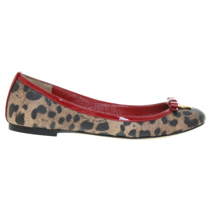 Dolce & Gabbana Ballerine stampa leopardo