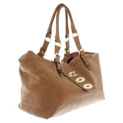 Mulberry Borsa in pelle in marrone