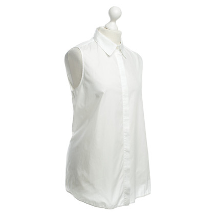 Acne Zonder mouwen blouse wit