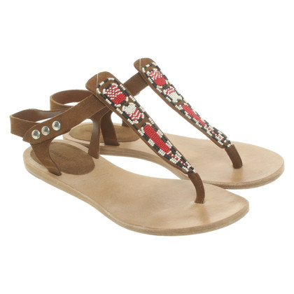 Isabel Marant Sandals with pearls trimming