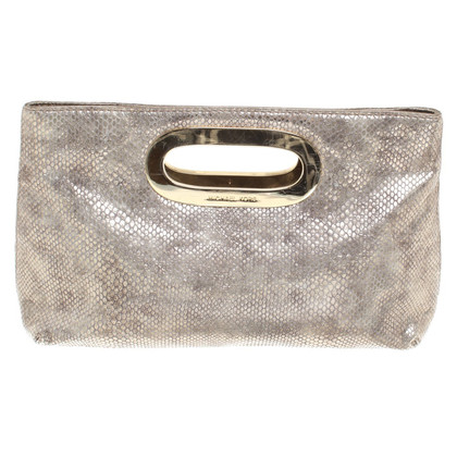 Michael Kors Goldfarbene Clutch