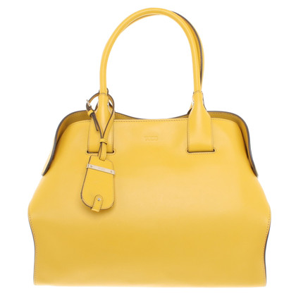 Tod's Shopper in yellow