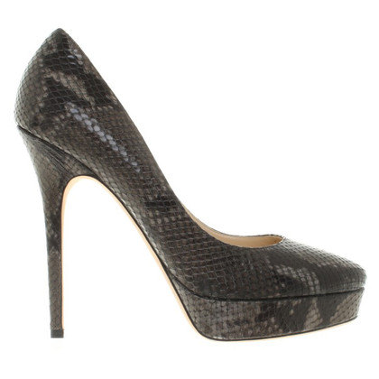 Jimmy Choo pumps in reptile optics