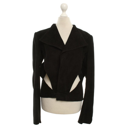 Haider Ackermann Leather Blazer