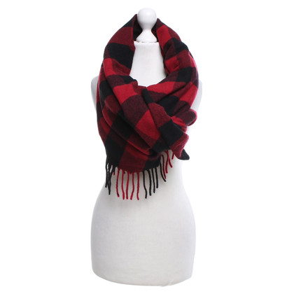 Dsquared2 Scarf with check pattern