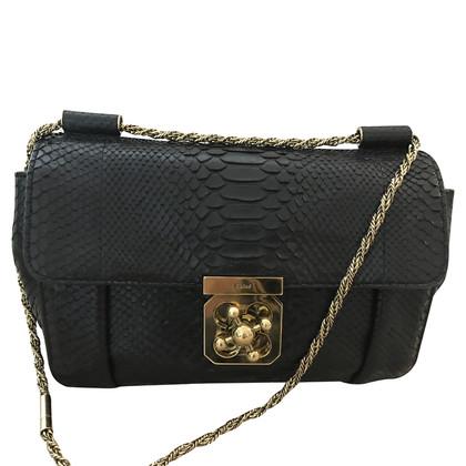 """Chloé """"Elsie Python Shoulder Bag"""""""