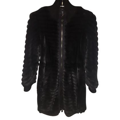 Armani Jeans Faux fur coats