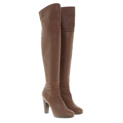 Miu Miu Boots made of brown smooth leather