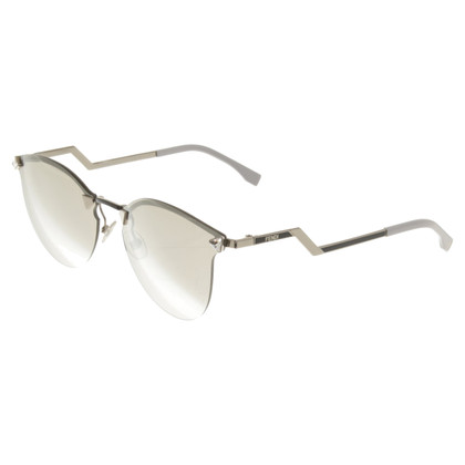Fendi Silver colored sunglasses