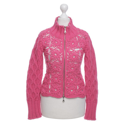 Twin-Set Simona Barbieri Strickjacke in Pink