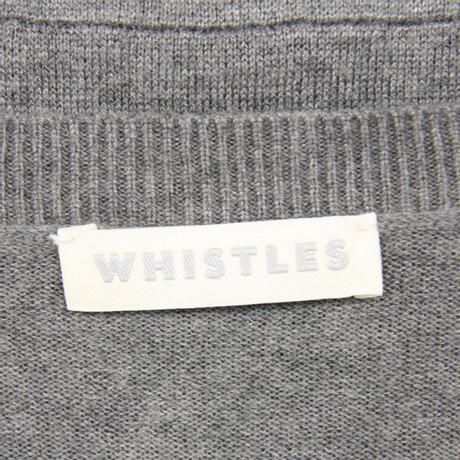 Whistles Oberteil in Grau Grau Freies Verschiffen Hohe Qualität Rabatt Breite Palette Von s4HxC