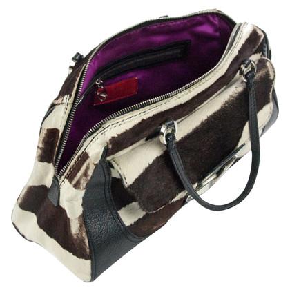 Valentino Handbag in zebra look