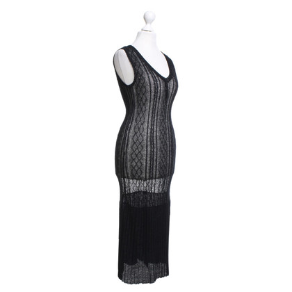 Anna Sui Crochet dress in black