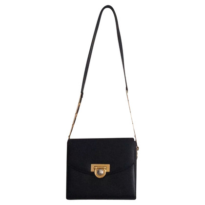 Gianni Versace Leather Shoulder Bag