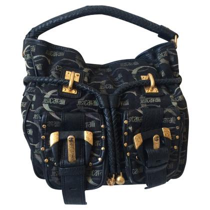 Just Cavalli Handtasche mit Logo-Muster