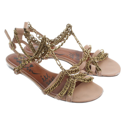 Lanvin Sandals with chain