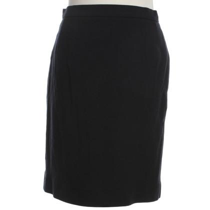 Chanel Wollrock in zwart