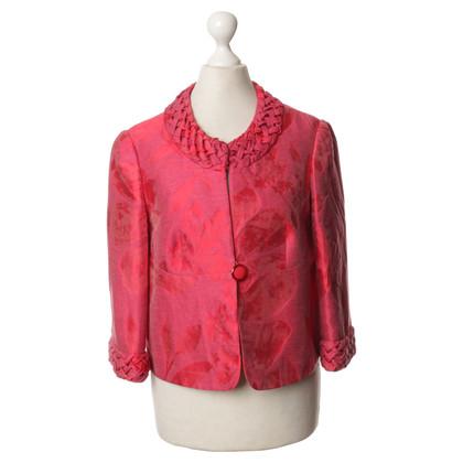 Armani Collezioni Bouclé jacket in red