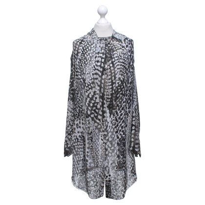Yves Saint Laurent Multicolored silk dress