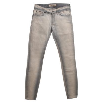 Drykorn Jeans con abluzione in beige/grigio