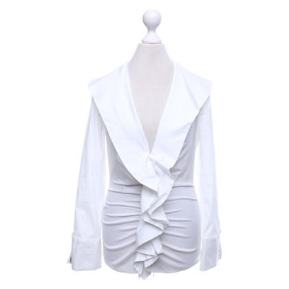 Elisabetta Franchi Blouse in white