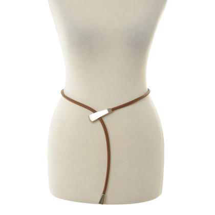 Malo Brown leather belt