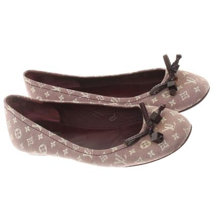 Louis Vuitton Ballerina's met patroon