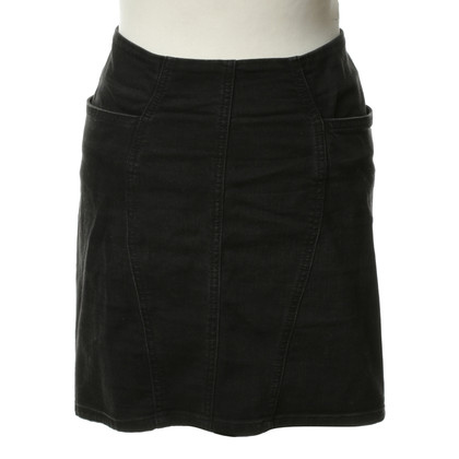 Acne Jeans skirt in black