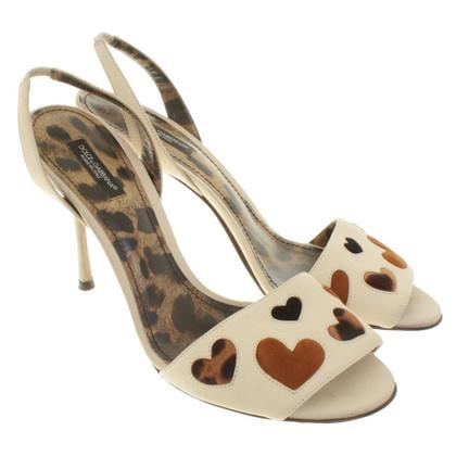 Dolce & Gabbana Sandals in Beige