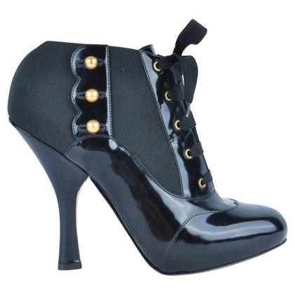 Dolce & Gabbana RUNWAY Baroque Boots zwart