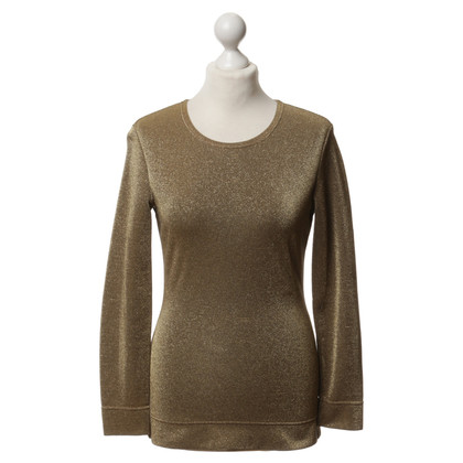 Moschino Cheap and Chic Longsleeve in Gold-Optik