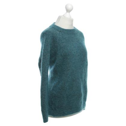 Acne Sweaters in Petrol