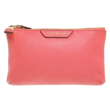 Armani Clutch in Rot