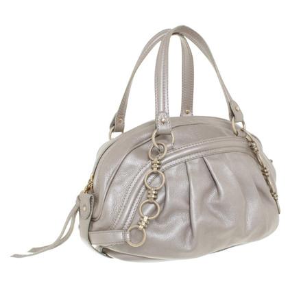 Rena Lange Silberfarbene Handtasche