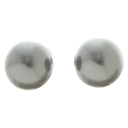 Christian Dior Earrings in grey