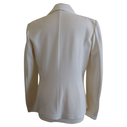 Giorgio Armani Stretch off white jacket
