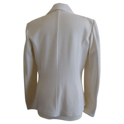 Giorgio Armani Stretch off white jasje