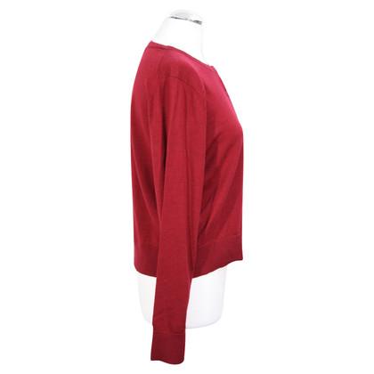Hobbs wool jumper in red