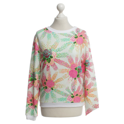 MSGM Sweater with floral print