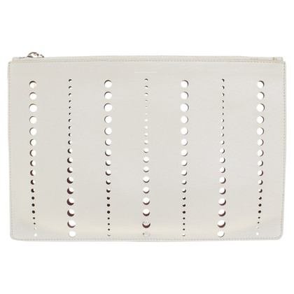 Jil Sander clutch gatenpatroon