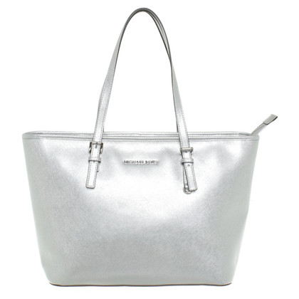 "Michael Kors ""Jet Set Travel TZ Tote Silver"""