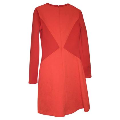 Pinko Orange scuba dress