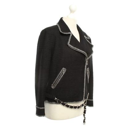 Chanel Jacke in Schwarz