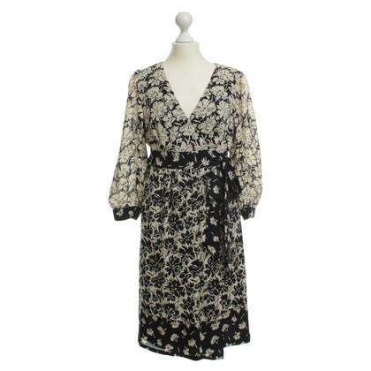 Tibi Envelopper la robe avec imprimé floral