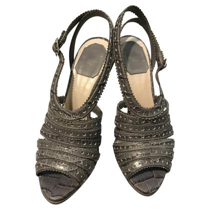 Christian Dior Sandalen in grijs