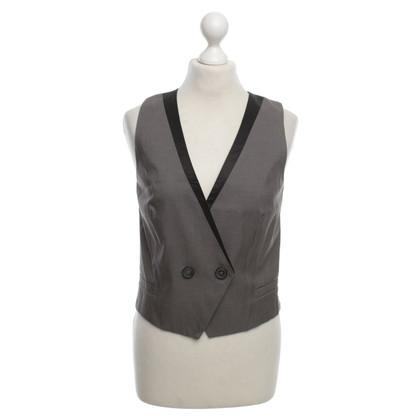 Comptoir des Cotonniers Vest in gray / black