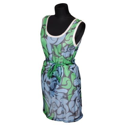 Miu Miu Silk dress with pattern